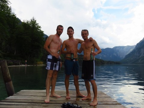 voyage slovénie lac bohinj