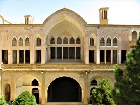 Iran Kashan maisons