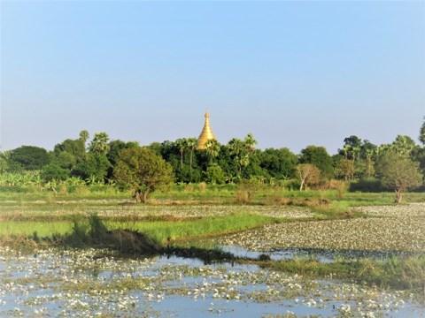 Myanmar Mandalay capitale royale Inwa