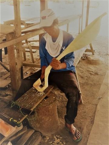 Bornéo Miri Tusan Artisanat