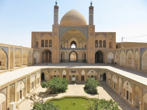 Iran Kashan Mosquée
