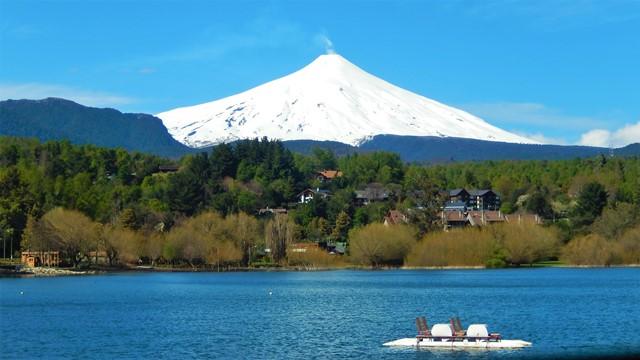 Chili Pucon volcan Villarica