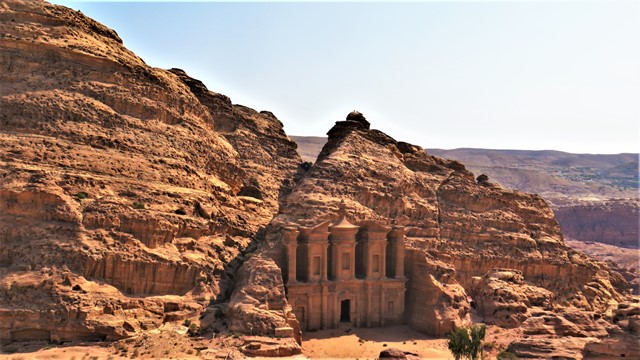 Jordanie Pétra monastère