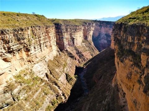 Bolivie Parc Torotoro Mirador del cañon