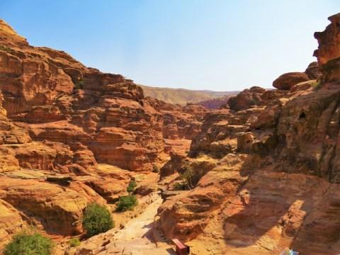 Jordanie Pétra canyon