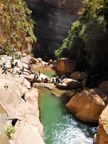 Bolivie Parc Torotoro canyon