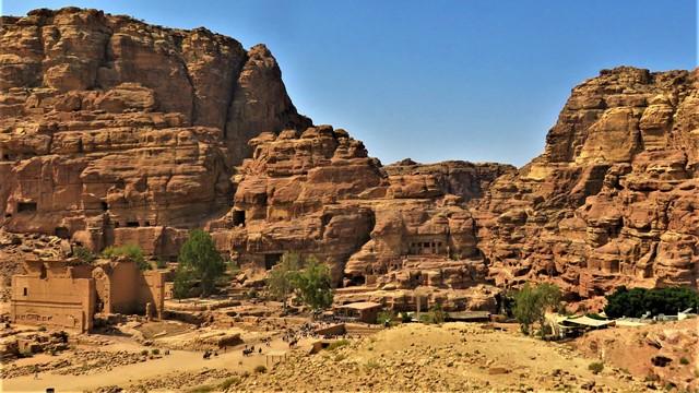 Jordanie Pétra temples