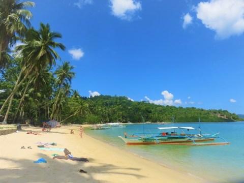 Philippines Port Barton plage