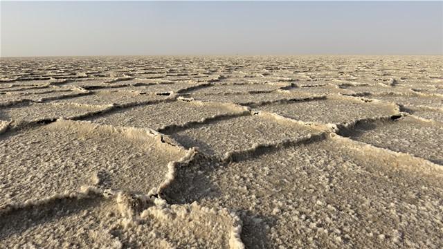 Iran Dasht-e Kavir désert de sel