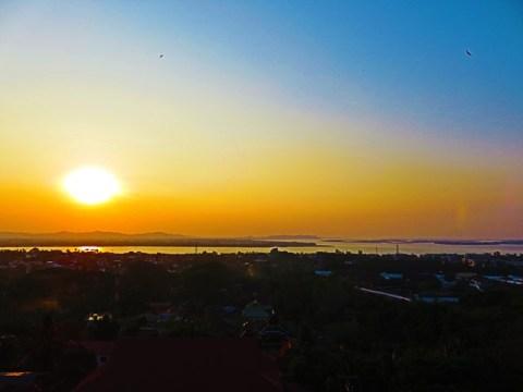 Myanmar Mawlamyine coucher de soleil