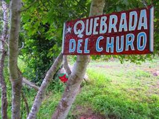 Bolivie Ruta del Che Quebrada del Churo