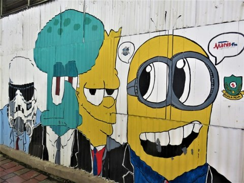 Malaisie Kuala Terengganu street art