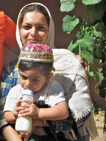 Iran Abyaneh famille