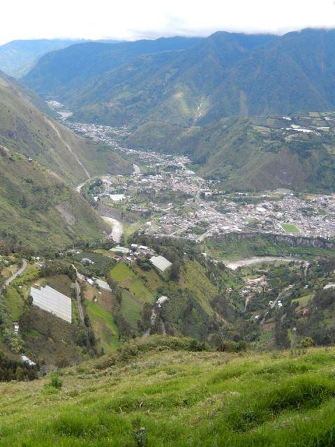 Equateur Banos Los ojos del volcan