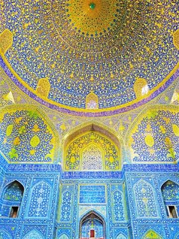 Iran Ispahan Mosquée Place de l'Imam