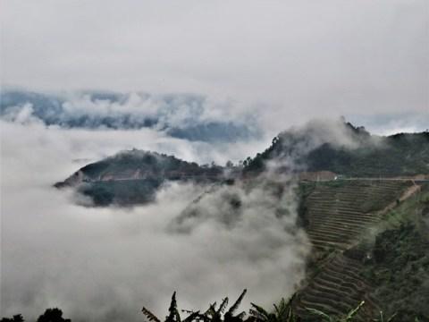 Vietnam boucle de Ha Giang col de Quan Ba