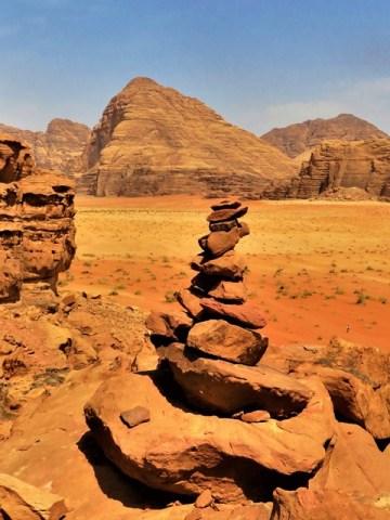 Jordanie désert Wadi Rum maison lawrence d'arabie