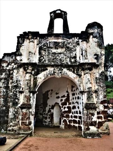 Malaisie Malacca porte