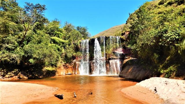 Bolivie Samaipata cascade Las Cuevas