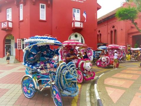 Malaisie Malacca trishaw