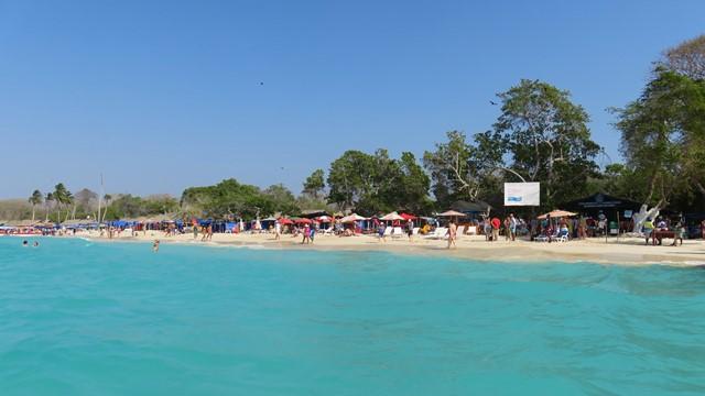 Colombie Carthagène playa blanca