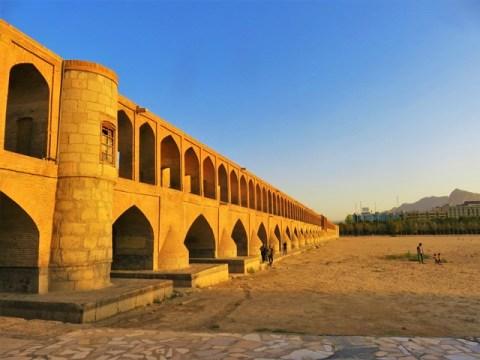 Iran Ispahan pont Si-o-seh