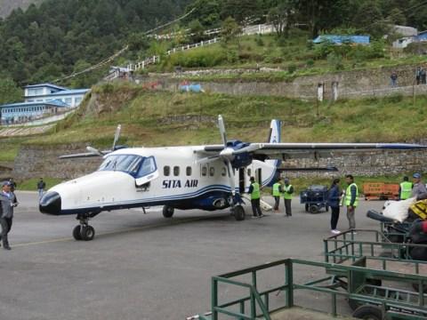 Népal Trek de l'Everest Lukla aéroport