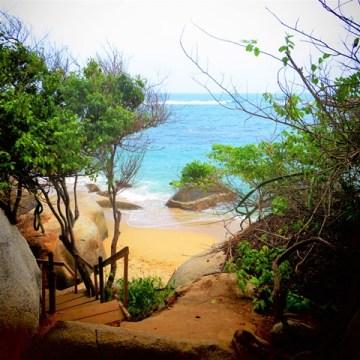 Colombie Parc Tayrona plage