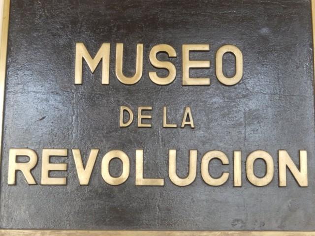 Cuba La Havane Musée de la Révolution
