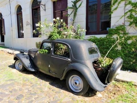 Uruguay Colonia vieille voiture