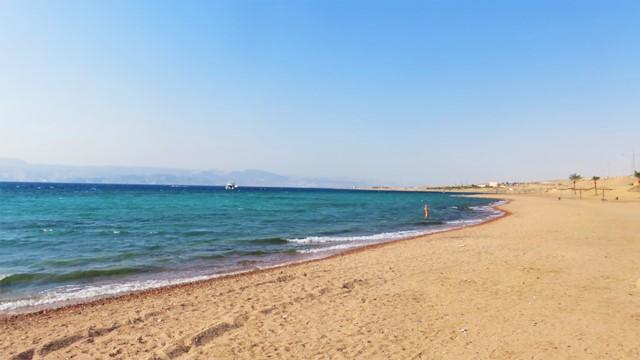 Jordanie aqaba plage