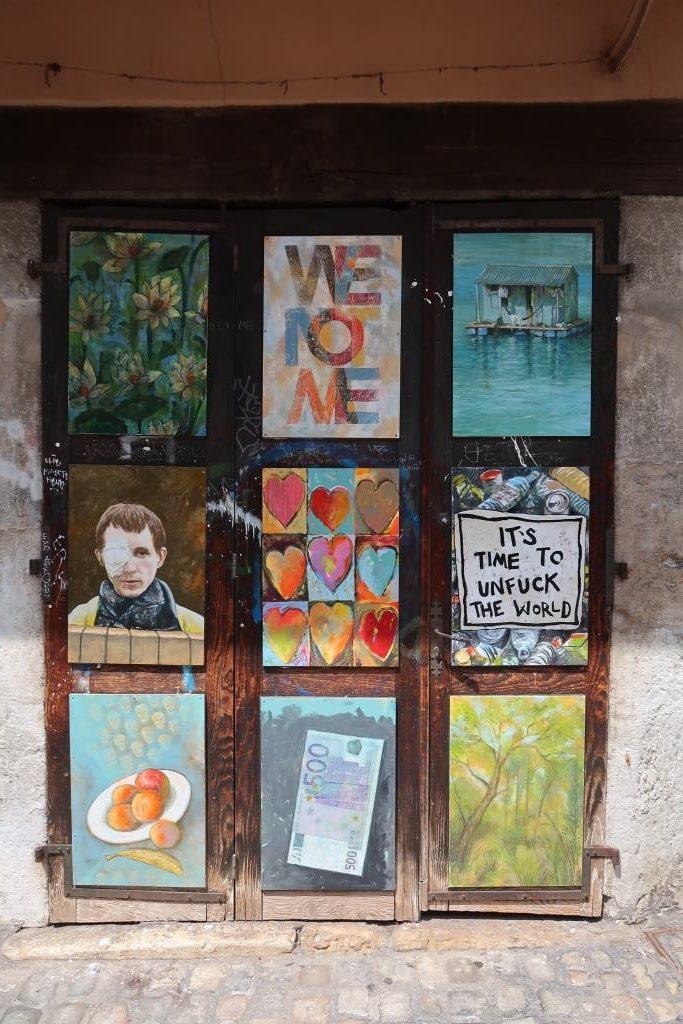 Annecy street art