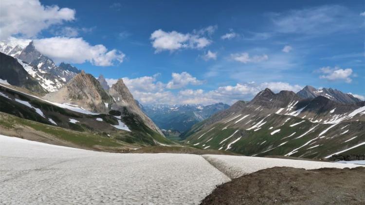 Trek du Tour du Mont Blanc Col de Seigne