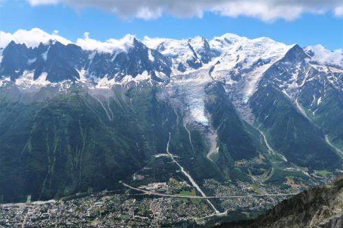 Trek du tour du mont blanc Brévent panorama