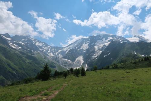 Trek du Tour du Mont Dômes de Miage
