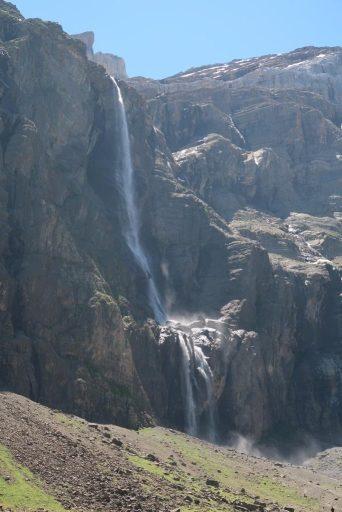 Trek des 3 cirques Gavarnie grande cascade