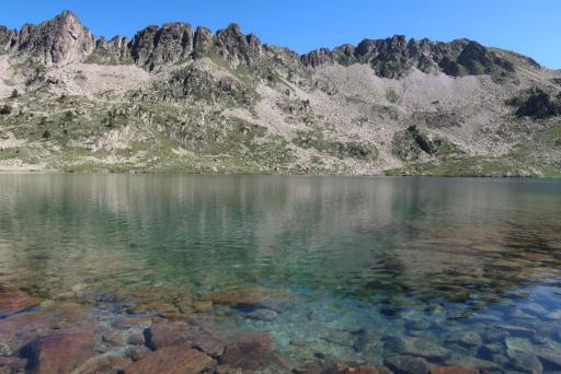 Trek Néouvielle lac Port Bielh