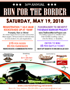 wenatchee 16th annual run for the border yakima valley h o g