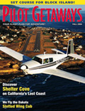 Pilot Getaways magazine