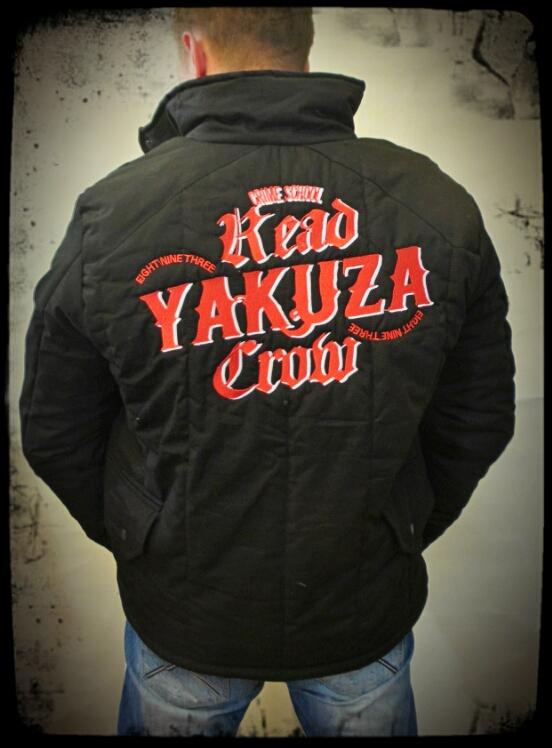 Yakuza Winterjacke hinten