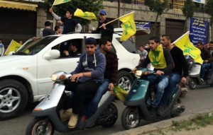 hezbollah yabroud celebration