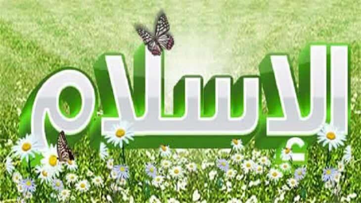 موضوع تعبير عن الاسلام دين السلام بالعناصر
