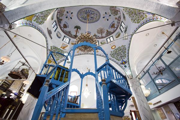 Abuhav Synagogue, Safed, Israel, photo by Itamar Grinberg, courtesy of IMOT