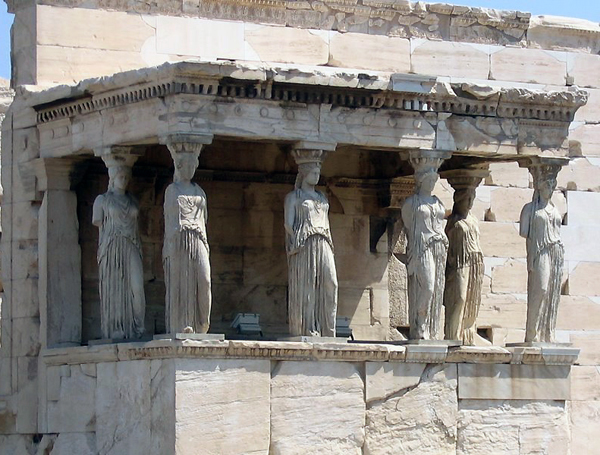 Erechtheum, Athens Acropolis