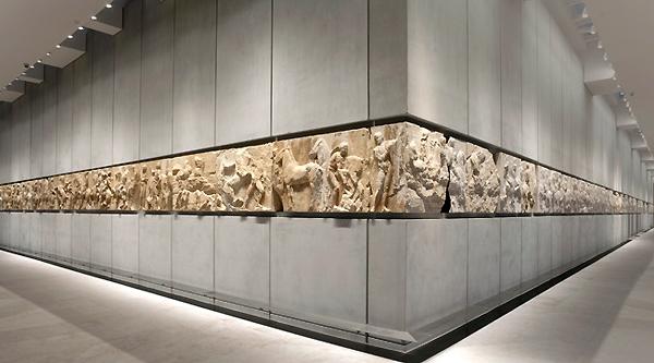 Parthenon frieze, Acropolis Museum