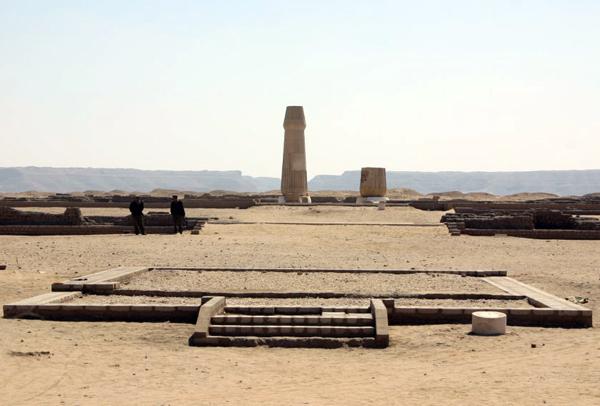 Aten Temple, Tel el-Amarna, Egypt