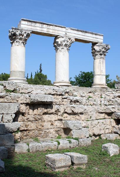 Temple of Octavia, Corinth, Greece