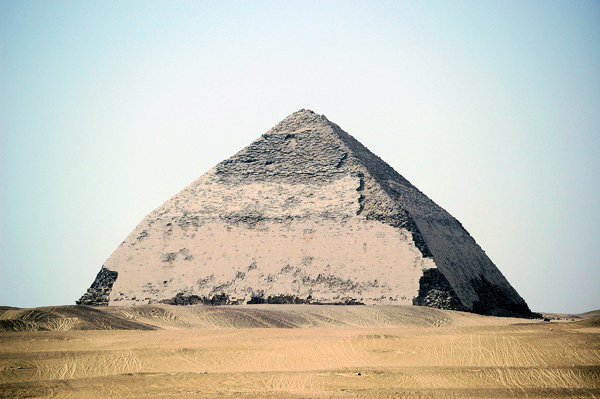 the Bent Pyramid, Dahshur, Egypt