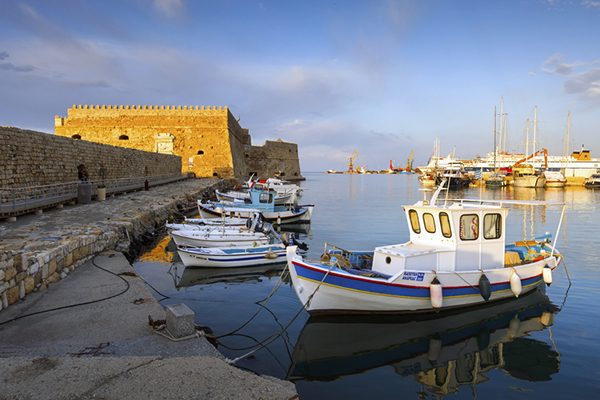 Venetian Harbor, Heraklion