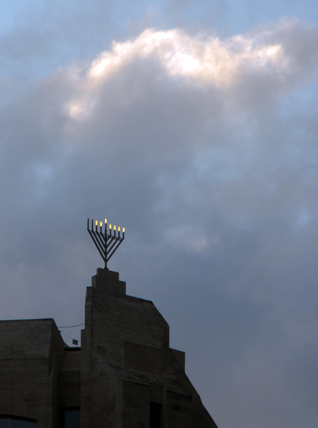 Hanukkah, Jerusalem Old City